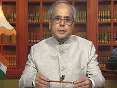 President Pranab Mukherjee Greets Nation On Dussehra