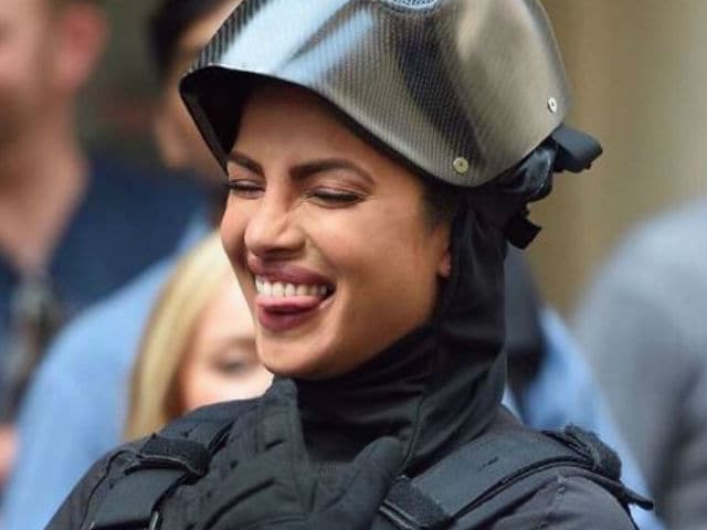Filming Quantico. Don't Thank Priyanka Chopra For These Pics Though