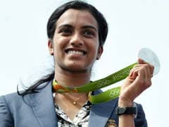 PV Sindhu's Victory Rally In Vijayawada: Highlights
