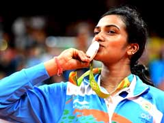 Grand Welcome Awaits PV Sindhu In Hyderabad
