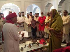 Jaipur Rajmata Steps Into Raj Mahal Palace Row With Appeal To Community