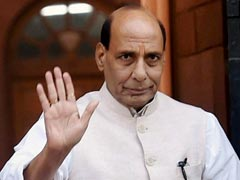 Rajnath Singh Reviews Security Situation In Kashmir, Assam