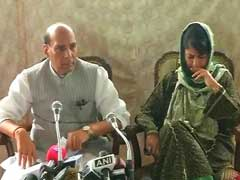 Mehbooba Mufti Loses Cool In Press Meet Where Rajnath Singh Was Present