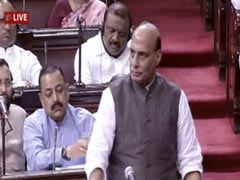 Will Talk To Moderates, Others For Peace In Kashmir, Says Rajnath Singh