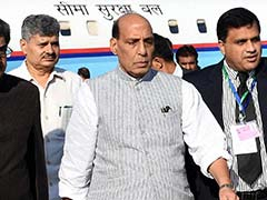 Rajnath Singh Reviews Security Projects