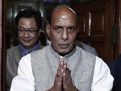 National Conference Delegation Meets Rajnath Singh, Demands Ban On Use Of Pellet Guns