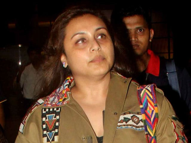 When Cameras Get Too Close: Rani Yells at Paparazzi Snapping Daughter
