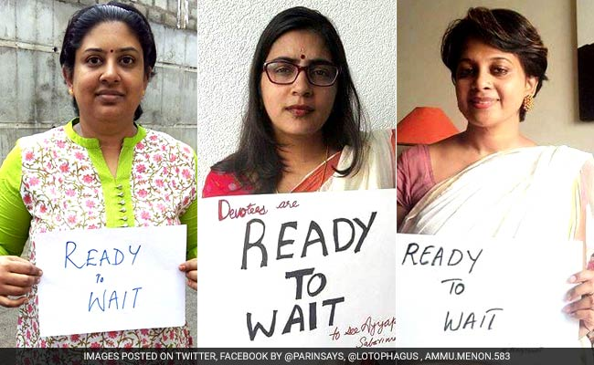 Women devotees counter campaign for entry to Sabarimala, say ReadyToWait