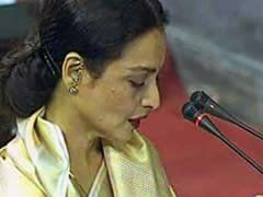 Rekha, Missing In Action During GST Debate, Spotted In Parliament. Briefly
