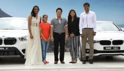 Sachin Tendulkar Presents BMW Cars to PV Sindhu, Sakshi Malik, Dipa Karmakar and P. Gopichand