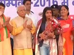 Manohar Lal Khattar Forgets PV Sindhu's Name, Calls Her From Karnataka