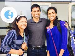 Sakshi, Sindhu And Gopichand, All Together. Caption This Epic Pic