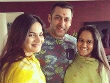 Salman Khan Celebrates Rakhi With Sisters Alvira, Arpita. See Pics