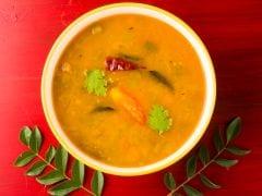 Sambar is Not an Original South Indian Dish?