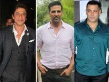 Shah Rukh Khan, Akshay Kumar Are Among World's 10 Highest Paid Actors