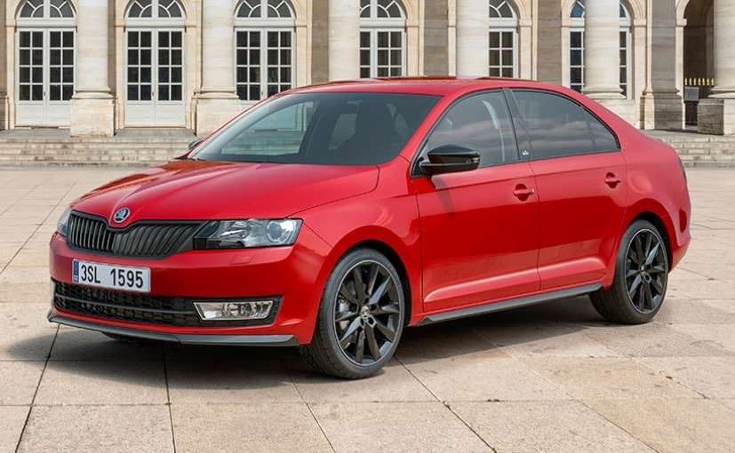 skoda rapid monte carlo edition to be launched in india in 2017 ndtv carandbike. Black Bedroom Furniture Sets. Home Design Ideas