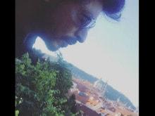Shah Rukh Khan in Prague, an Instagram Story
