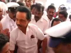 Police Complaint Against Stalin, 60 DMK Leaders For Assembly Protests