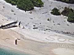 Stranded, They Wrote 'SOS' In The Sand. Search Crews Found Them