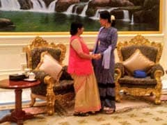 Ready To Give 'All Help', Says Sushma Swaraj In First Myanmar Visit