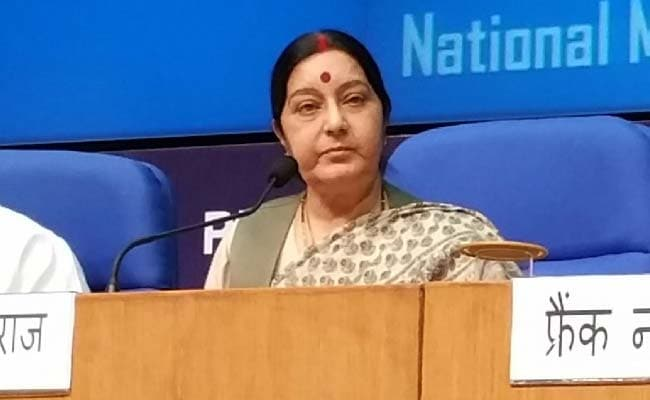 Sushma Swaraj Urged To Save 29 Telangana Workers Held 'Captive' In Saudi Arabia