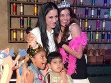 Inside Sushmita Sen's Daughter Alisah's Fun-Filled Birthday Party