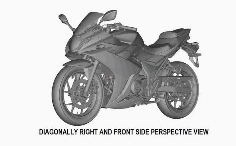 Suzuki GSX-R250 Revealed In New Patent Images From Australia