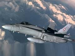 'We Hope And Pray': Swiss Air Force Jet Goes Missing, Search Launched