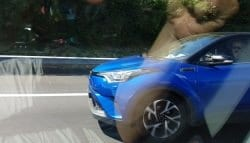 Toyota C-HR Compact Crossover Spotted Testing Sans Camouflage