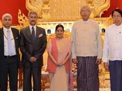 Myanmar President On 4-Day India Visit From Saturday