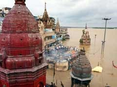 Flooding In Varanasi Forces Cremations To Move From Ghats To Roof-Tops