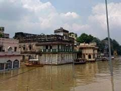 As Ganga Floods, Janmashtami A Washout In Varanasi