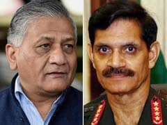 Was Victimised By VK Singh, Banned Illegally, Says Army Chief Dalbir Singh