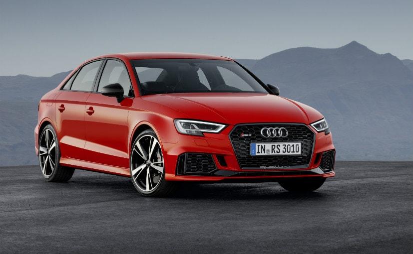Paris Motor Show 2016: Audi Showcases The Mental RS 3 Sedan