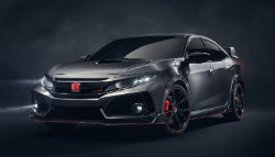 Paris 2016: Honda Civic Type R Prototype Unveiled