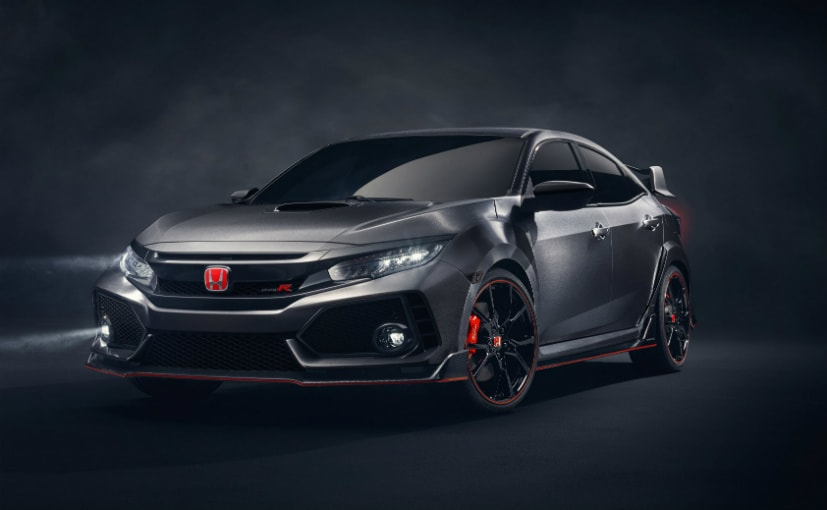 paris motor show 2016 honda civic type r prototype unveiled ndtv carandbike. Black Bedroom Furniture Sets. Home Design Ideas