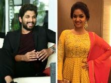 Keerthy Suresh Signs Allu Arjun's Tamil Debut