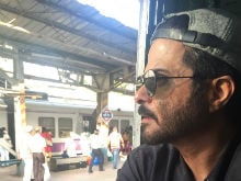 Anil Kapoor Took Mumbai Local Home to Avoid Visarjan Traffic. See Pics