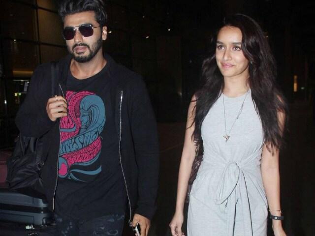 Arjun Kapoor Recreates DDLJ Train Scene With Half Girlfriend Shraddha