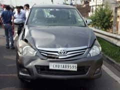 Arvind Kejriwal's Car Hits Police Vehicle In Minor Accident In Punjab