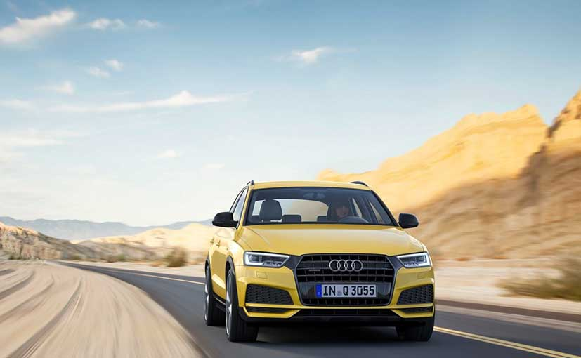 Audi Q3 update introduces S line package