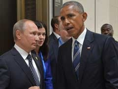 Vladimir Putin Says 'Some Alignment' With US On Syria After Talks With Obama