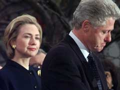 On Husband's Conduct, Clinton Walks A Fine Line