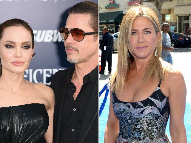Jennifer Aniston Apparently Called the Brangelina Divorce 'Karma'