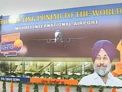 Chandigarh's First International Flight Fuels Fight Between Haryana, Punjab