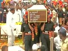 Satara Soldier Chandrakant S Galande Cremated With Full Military Honours