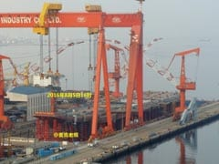 China's First Home-Made Aircraft Carrier Is Nearly Ready. Looks Like This.