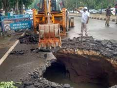 Disaster Rescue Teams On Standby As Heavy Rain Hits Hyderabad