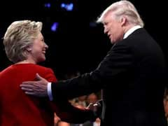Clinton, Trump Clash And Interrupt Each Other In US Presidential Debate