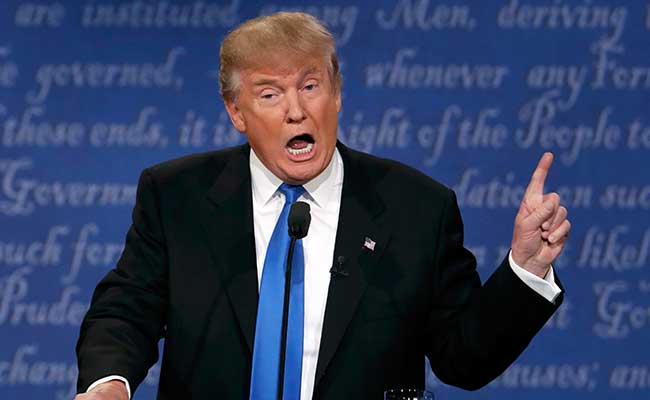 Didn't Raise Bill Clinton's Affairs Since Chelsea Was There: Donald Trump